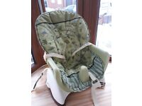 Fisher price unisex high chair seat for chairs or floors adjustable