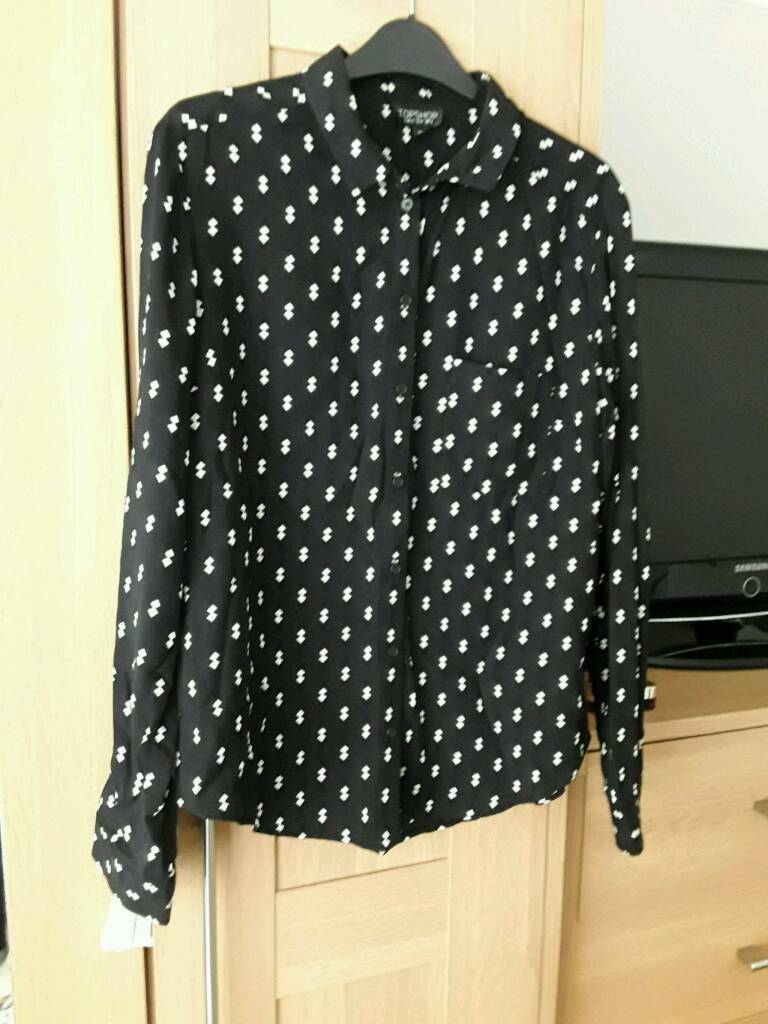 Womens blouse size 10in Portsmouth, HampshireGumtree - Blouse from topshop size 10 worn once