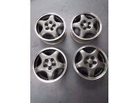 """Subaru impreza alloy wheels 15"""" mk1 classic alloys x4"""