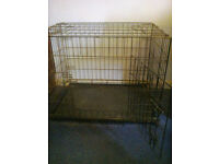 Dog Cage for Sale for medium dog breeds - ideal for car travel