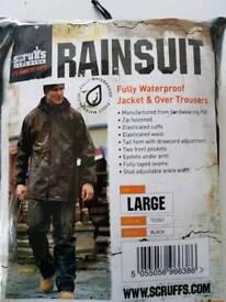 Scruffs rainsuit