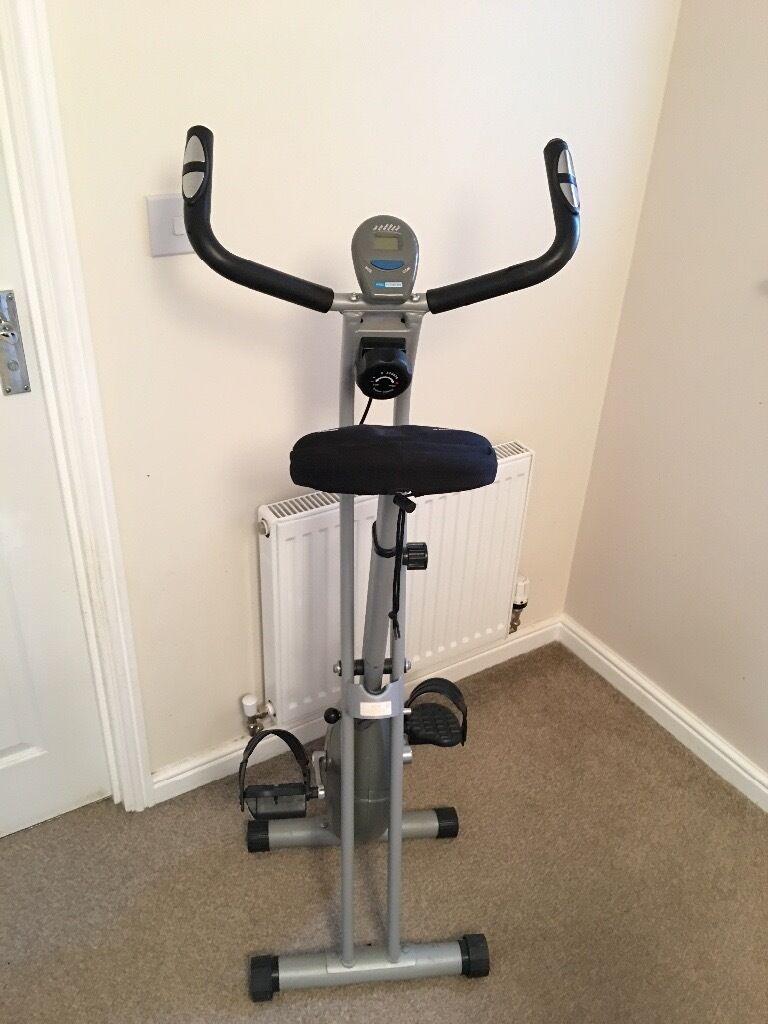 Pro Fitness Foldable Magnetic Exercise Bike (used)