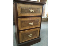 Solid Wood Small Chest of Drawers