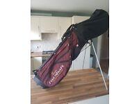 Golf bag stand wilson fat shaft