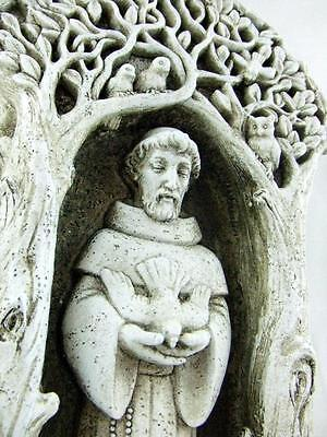 St Francis Garden Statue Lawn Patio Saint Outdoor Yard Decor