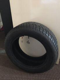 SP Winter Sport Dunlop Run Flat 225 55 17 Tire