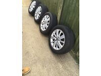 Golf VW tires and rims mint