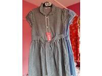 Girls school dresses Brand New