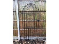 Vintage metal tall metal GARDEN GATE