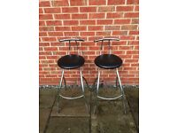 BREAKFAST BAR STOOLS.