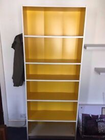 Collection Only: BILLY Bookcase, yellow: £45