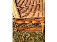 Oak antique unit