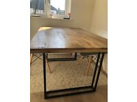 Mango wood 4 seater dining table