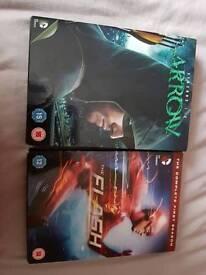 Arrow season 1-3 dracula season 1. Vampire hunter dvd and flash season 1