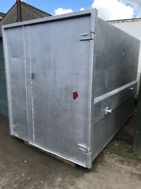 STEEL BOX IDEAL FOR STORAGE