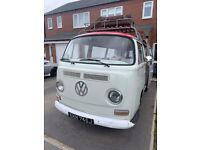 58a8b4e0a0 VW Volkswagen 1971 T2 Type 2 Transporter Early Bay  crossover  Low Light Classic  Campervan