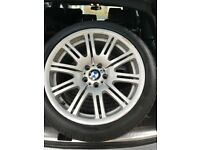 """BMW 19"""" staggered wheels"""