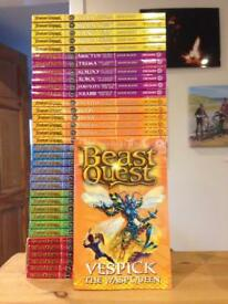 Beastquest beast quest series 1-6 36 books