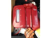 Red Tommie tippee prep machine