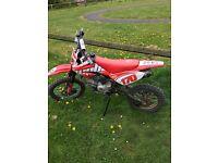 Welsh pitbike Detroit 170cc