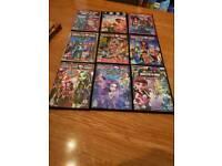 9 monster high dvds