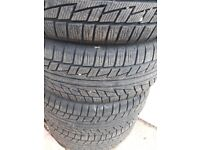 4 X NANKANG WINTER TYRES 235/55R17 (EXCELLENT CONDITION)
