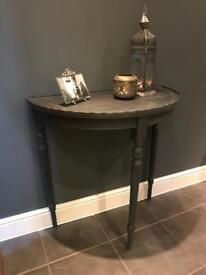 Annie Sloan Hand Painted Console/Hall Table
