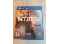 PS4 Battlefield 1 (NEW, Used Once)