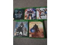 Xbox one games pick up only technomancer amd transformers are sold.