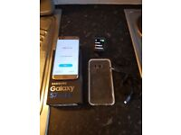 samsung galaxy s7 edge with gear 2 watch charger etc box etc unlocked any sim