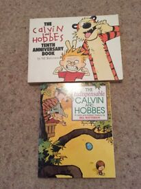 Calvin and Hobbes Books in Excellent Condition