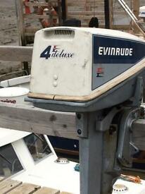 Outboard motor Evinrude 4hp sail drive
