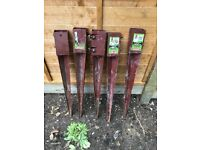 5 fence post spikes