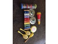 children's musical instruments - suitable for age 2 plus