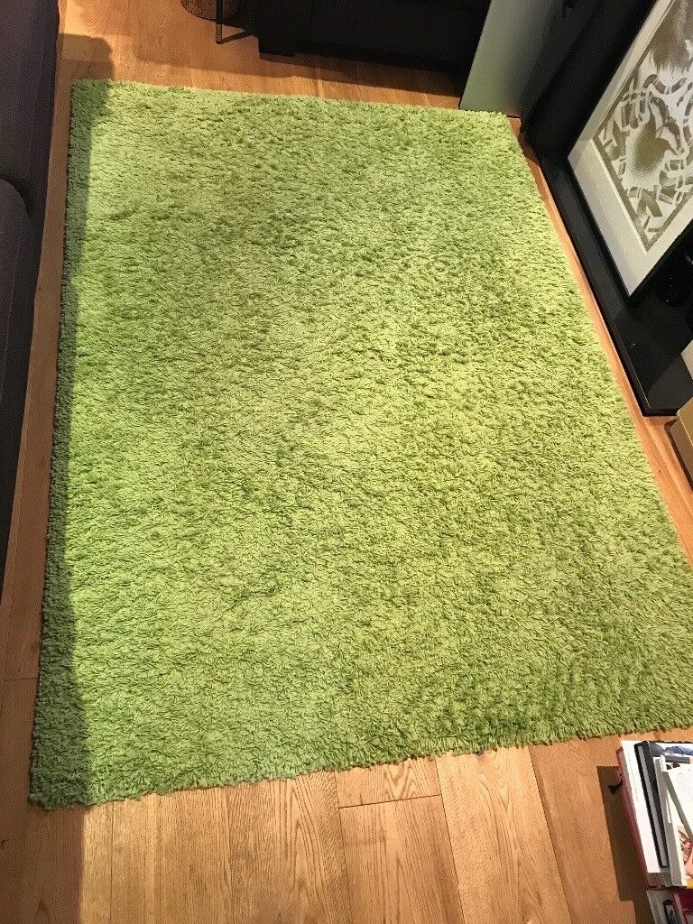 Ikea Green Hampen Rug In Enfield London Gumtree