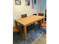 Dining Table & 4 Chairs - 2nd hand