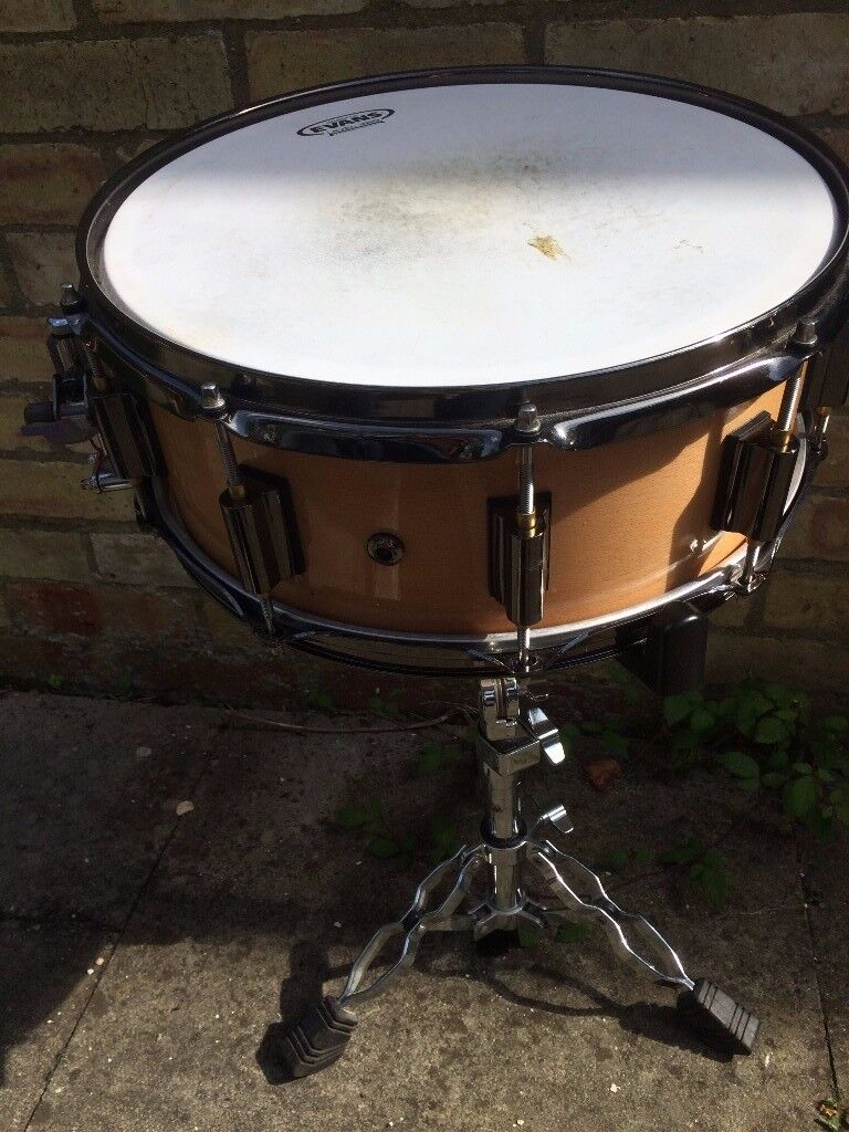 """DrumCraft 14x6"""" Series 8 Lignum Beech Snare"""