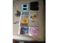 Nintendo DS with 8 games excellent condition