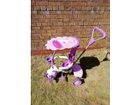 Purple 4 in 1 smart trike spirit in great condition