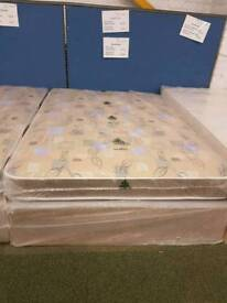 Robin quilted double 4.6ft bed