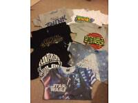Bundle of 7 boys tshirts age 12-13