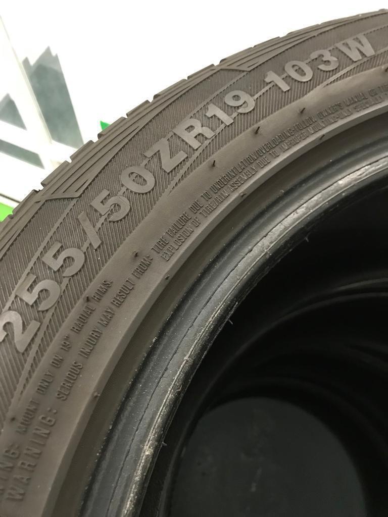 255/50-19 tyres