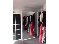 Various furniture for sale due to house move (Chest of Drawers x 2, Wardrobe, Mirror, Drawer Unit)