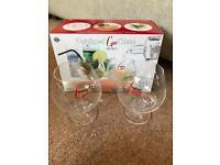 Fishbowl Gin Glasses