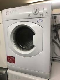 £75 HOTPOINT VENTED DRYER WITH GENUINE GUARANTEE