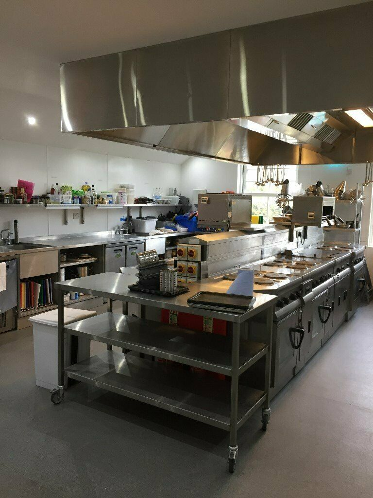 Finding truth about Setup An Industrial Kitchen