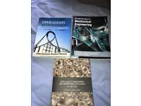 3 books. For students doing management/ mechanical engineering/ maths