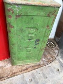 Vintage BP Petrol Fuel Jerry Can