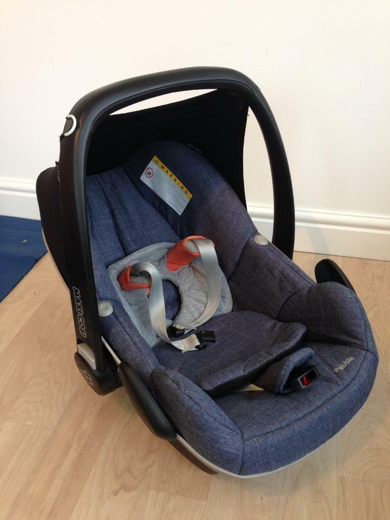 Maxi-Cosi Pebble car seat with infant insert | in York, North ...