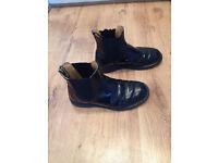 Mens Dr Martens Black Chelsea boots size 7 for sale good condition.